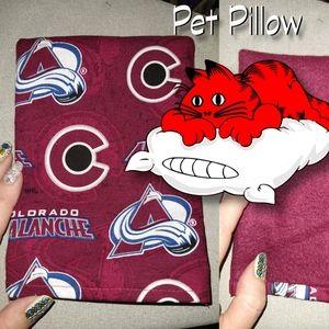 Colorado Avalanche Heated Pet Pillow rice bag cat